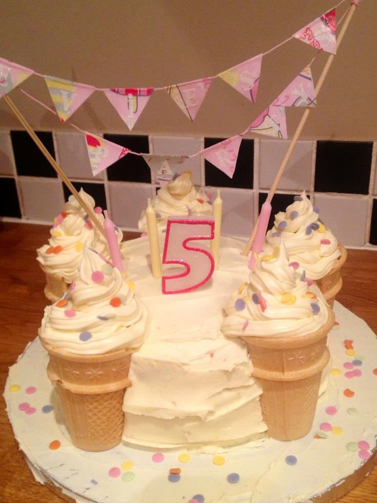 ice cream themed cakes