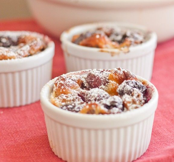 Cherry Almond Clafoutis | to bake. | Pinterest