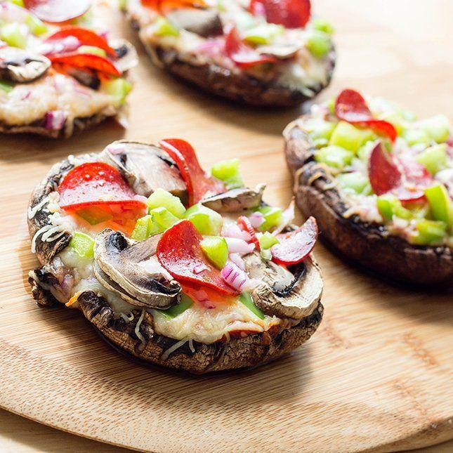 Portobello Mushroom Caps And Veggies Recipes — Dishmaps