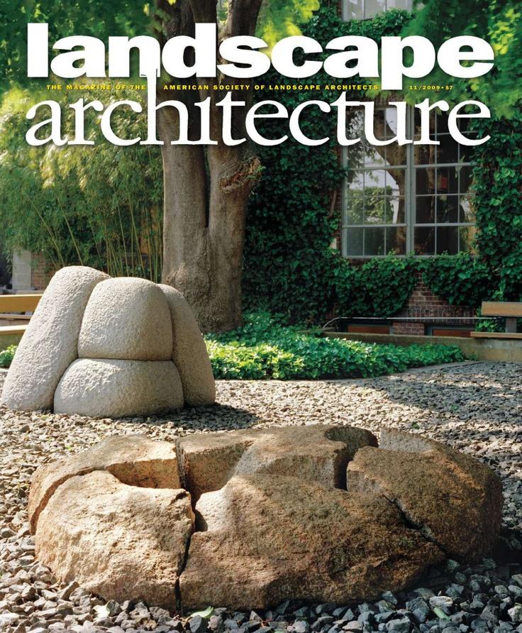 New landscape architecture magazine 2012 landscape for Garten design magazin