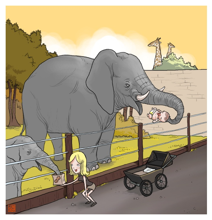 Анекдот: Слон и муравей зашли на мост. Слон опасливо…