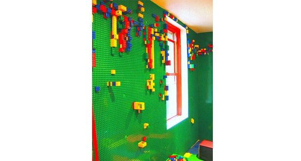 LEGO behang  Leon  Pinterest