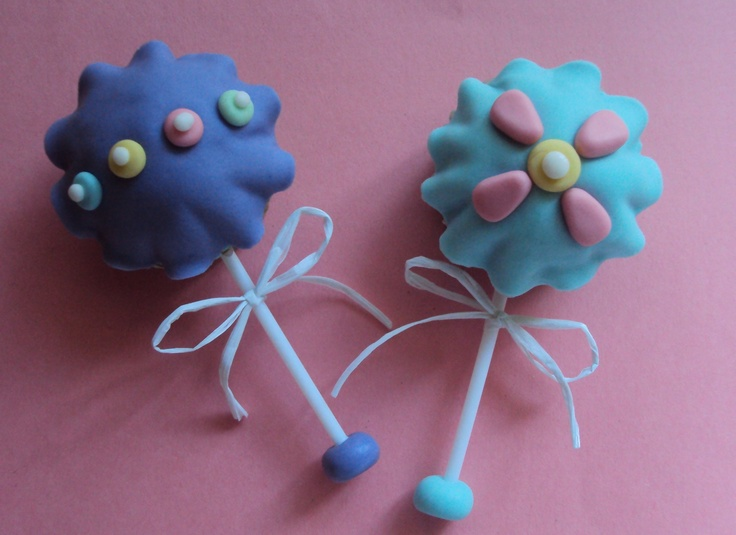 Baby rattle cupcakes | The Illusionary Cupcake | Pinterest