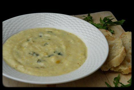 Potato, Leek, and Arugula Soup | Vegetarian main dishes & sides | Pin ...