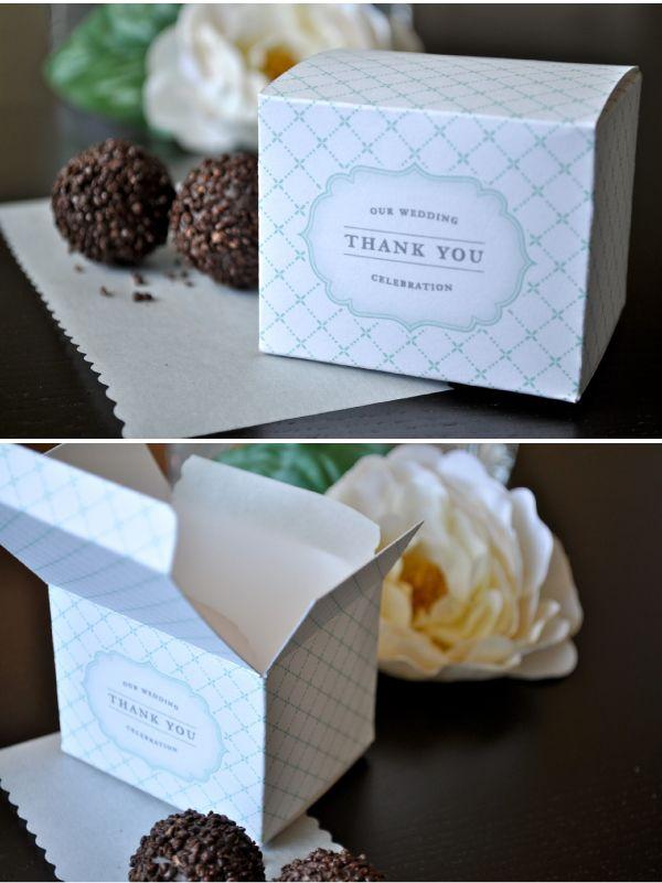 Wedding Favor Gift Box Template : Favor box template Favor Box template Pinterest