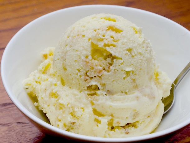 Scooped: White Chocolate Ginger Shortbread Ice Cream