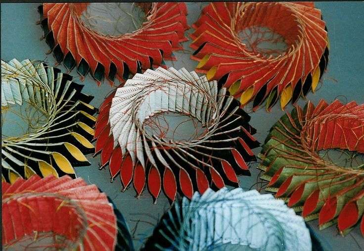 Luis Acosta -  My first paper jewelry Ca.1997
