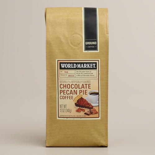 ... at WorldMarket.com: 12-oz. World Market Chocolate Pecan Pie Coffee