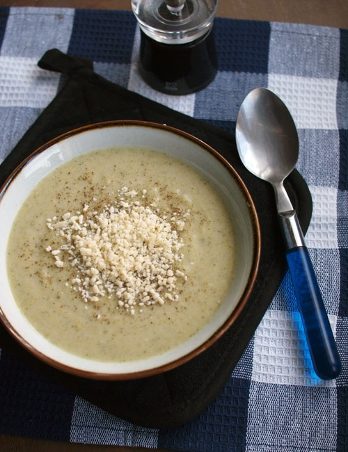 Broccoli and parmesan soup | Yummy in my Tummy | Pinterest