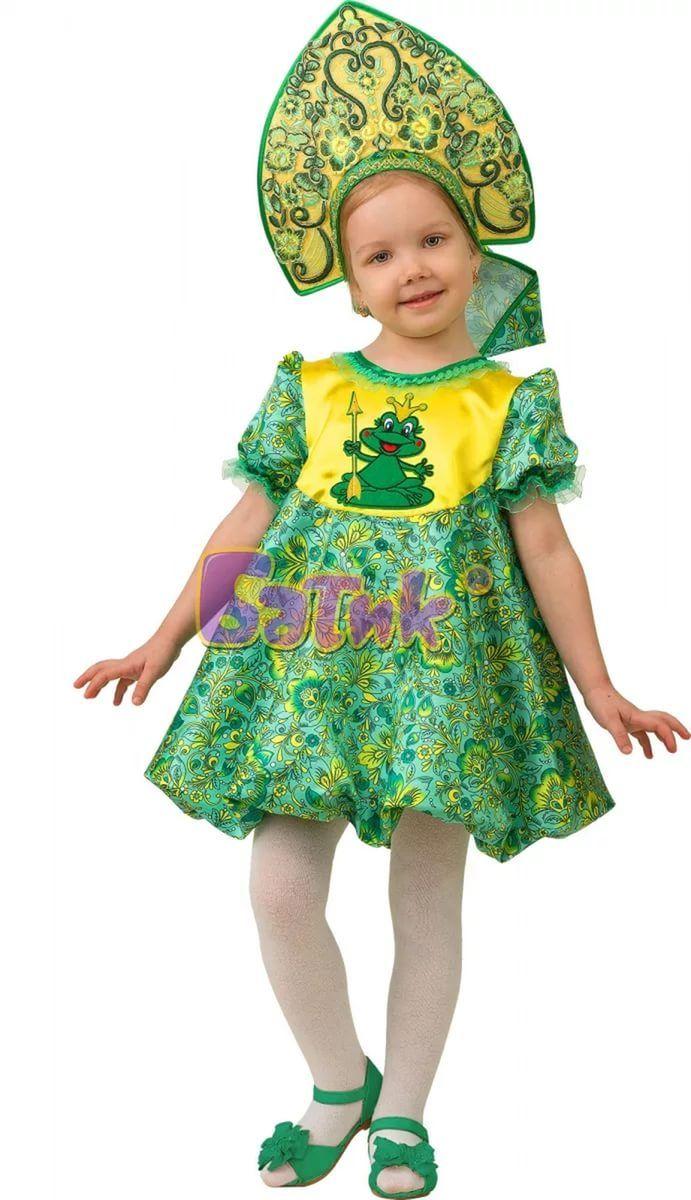 Костюм принцессы лягушки своими руками