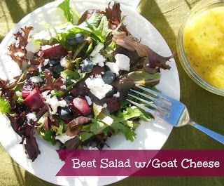 Mango, Celery And Goat Cheese Salad Recipe — Dishmaps