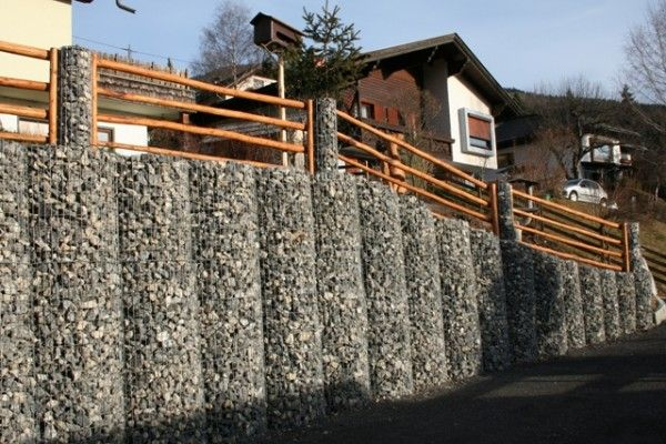 Stone fence design ideas Pin Anything Nice Pinterest