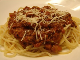 Bear in the Kitchen: Food Nanny's Spaghetti and Meat Sauce