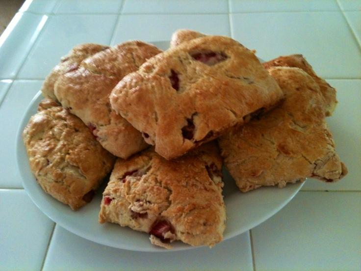Fresh Strawberry Scones   Mitron Bakery   Pinterest