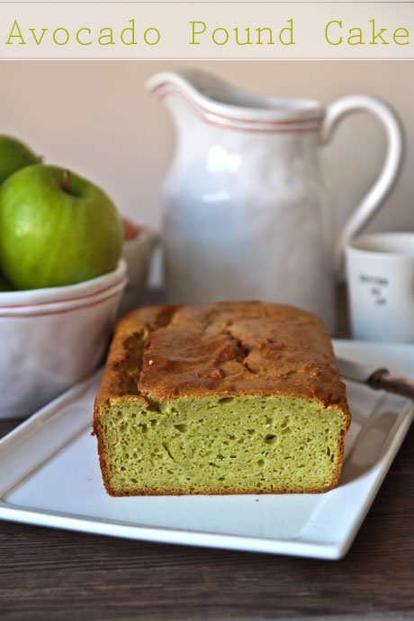 Avocado Pound Cake | Delicious Desserts | Pinterest