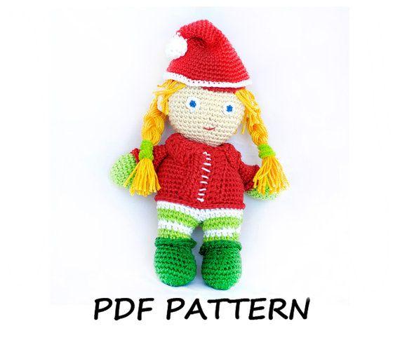 Tutorial Elfi Amigurumi : Make Your Own Holiday Gifts For Kids , Crochet Amigurumi ...