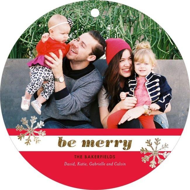 Ornament card!