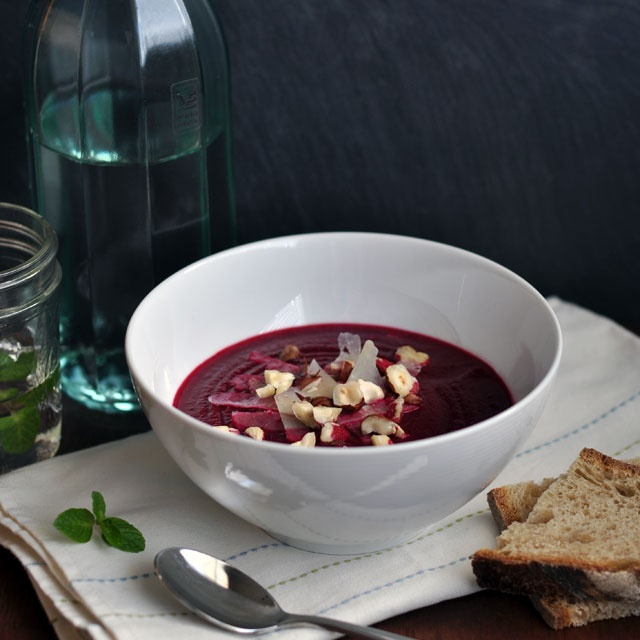 Roasted Beet and Fennel Soup (part 2) | Soup Season | Pinterest