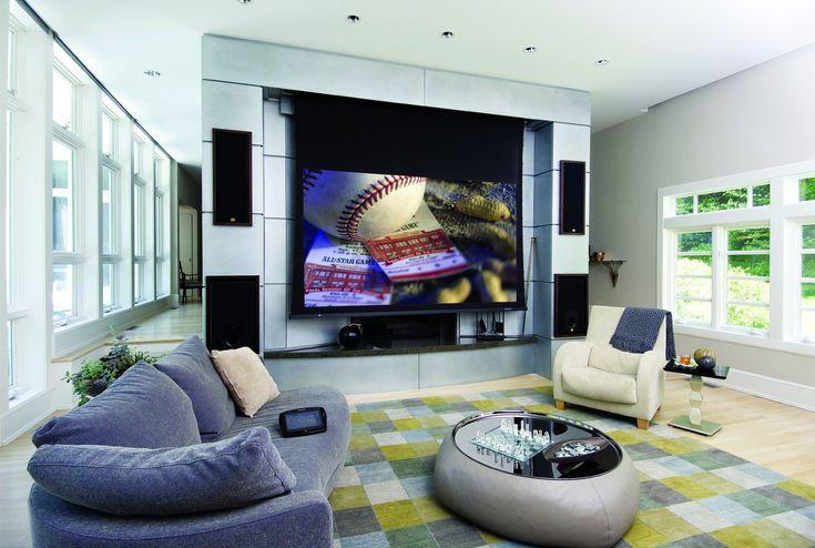 High tech living room modern to the ultimate pinterest for Hi tech living room designs