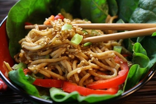 Cold Sesame Noodles with Peanut Butter | Filipino recipes | Pinterest