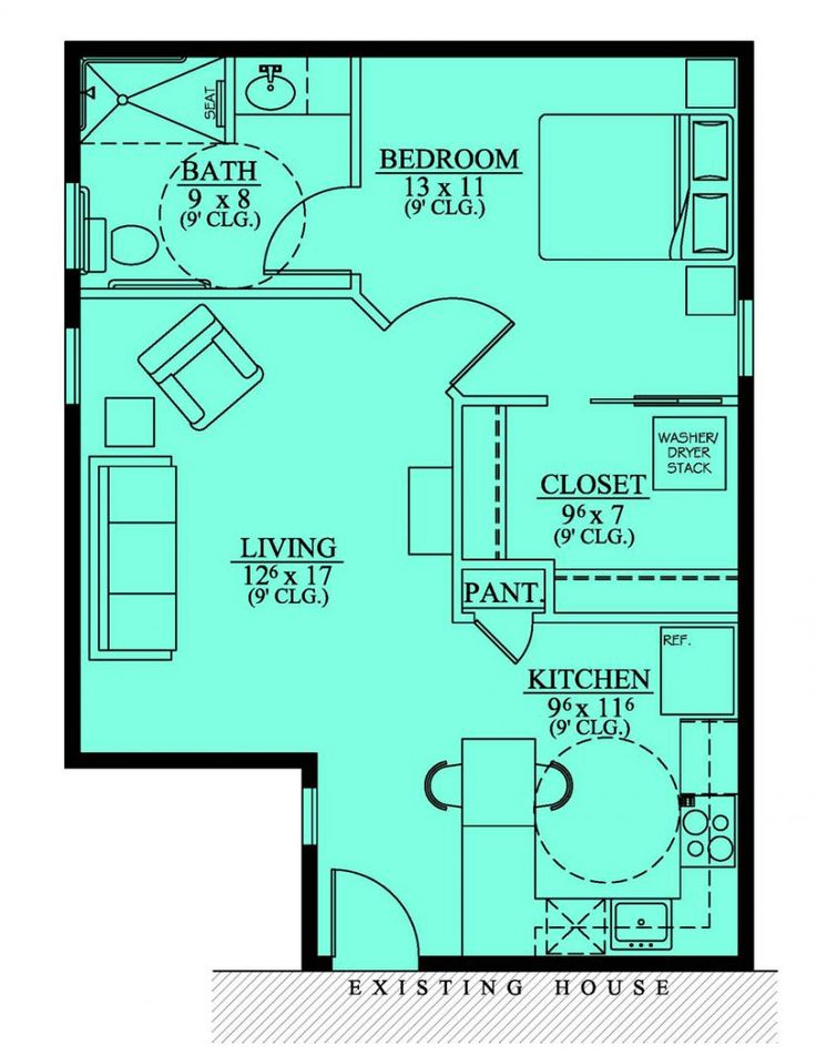 Favorite Floor Plan Mother In Law Suite Or Small