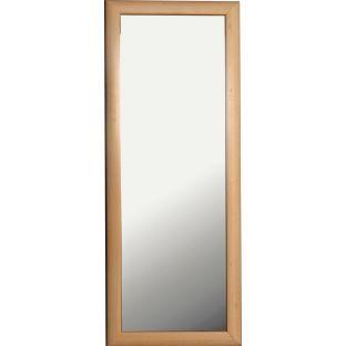 Tall thin pine mirror argos living room inspiration for Thin wall mirror