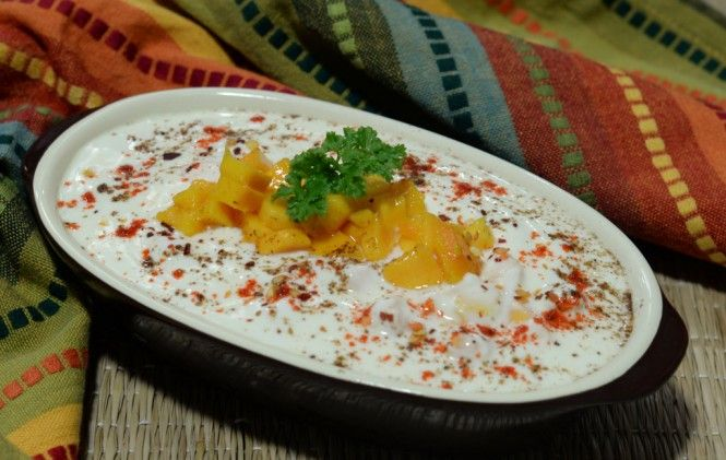 Mango Raita Recipe - Its extremely easy to make and would be relished ...