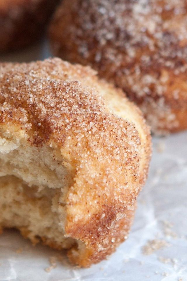Spiced Cinnamon Sugar Breakfast Puffs | Food and Libations | Pinterest
