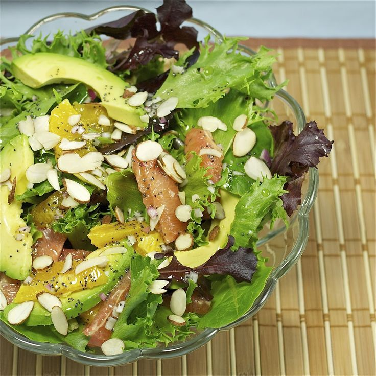 ... : Avocado Citrus Salad | Side dishes and salads | Pin