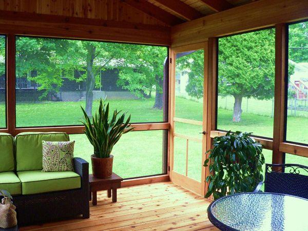 Beautiful Screen Porch Home Improvement Pinterest