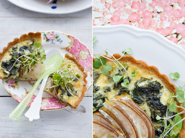 swiss chard comte tart @Jen Laceda | Tartine and Apron Strings