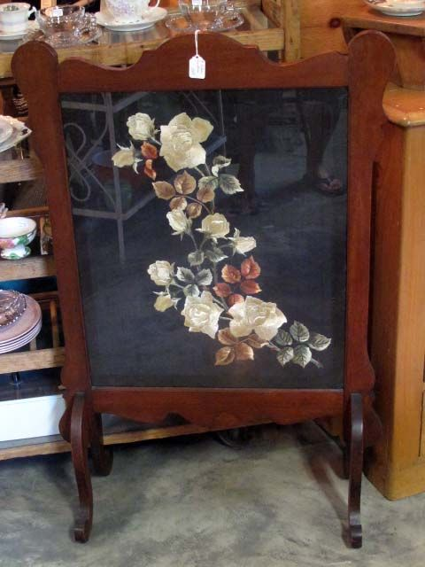 Victorian Fireplace Screen Tea Pinterest