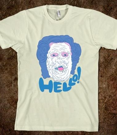 """Hello!"" Mrs. Doubtfire T-Shirt | My Style | Pinterest"