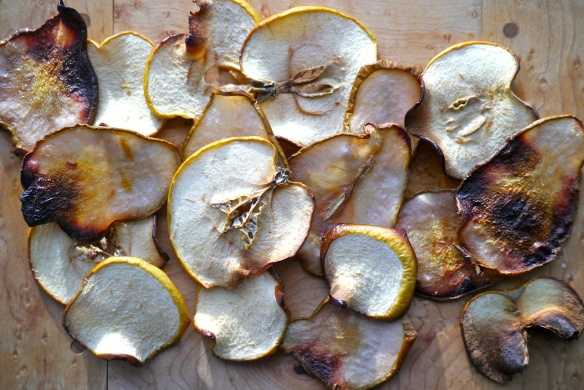 Apple and pear chips | To cook | Pinterest