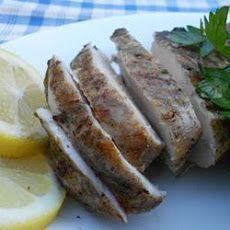 Greek Style Garlic Chicken Breast Recipe.