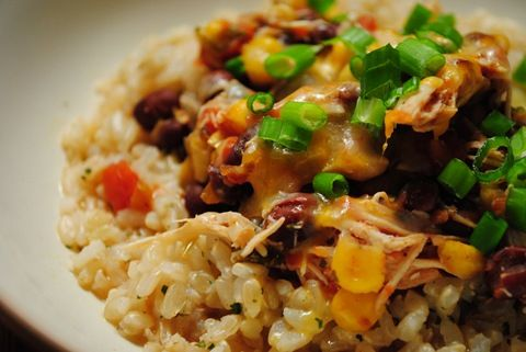 Crock Pot Santa Fe Chicken | yuuummm | Pinterest