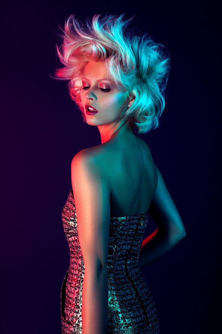 One light fashion portrait photography tutorial 16