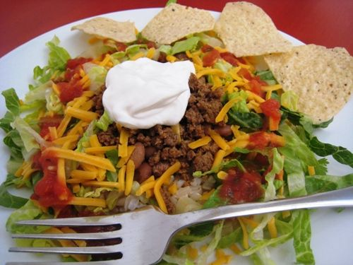 Taco Salad to Feed a Crowd | Eat and Sip | Pinterest