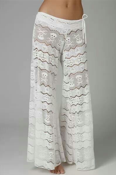 Awesome lace Skull lounge pants i saw on Horrific Finds facebook page ...