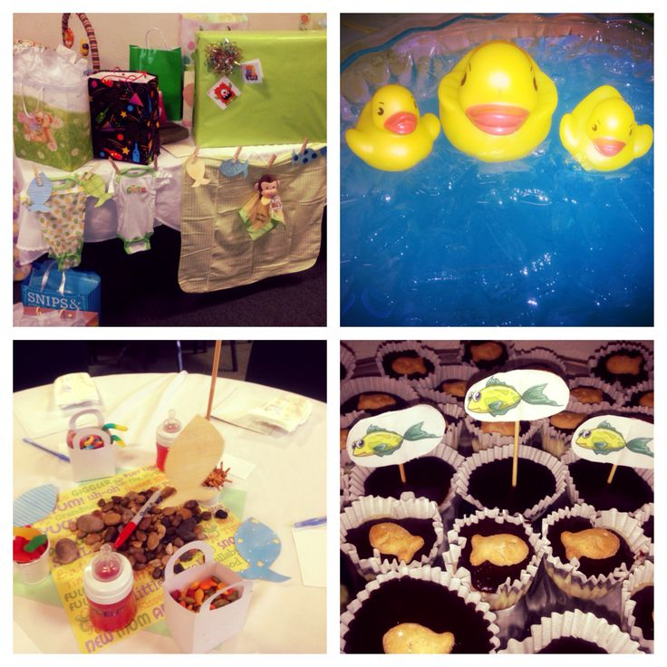baby shower food ideas baby shower ideas fish theme