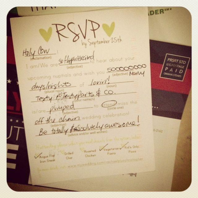 Cute rsvp wording invitation amp rsvp wording pinterest