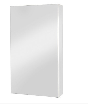 Recessed Shaving Cabinet To Maximise Storage With Minimal Impact To
