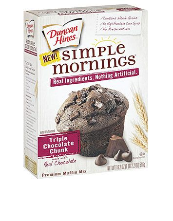 Mornings Triple Chocolate Chunk Muffin Mix. It's not just a muffin ...