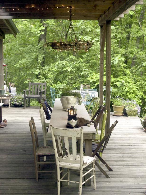 Repurposing ideas for outdoor room decor d co pinterest - Outdoor room ideas pinterest ...