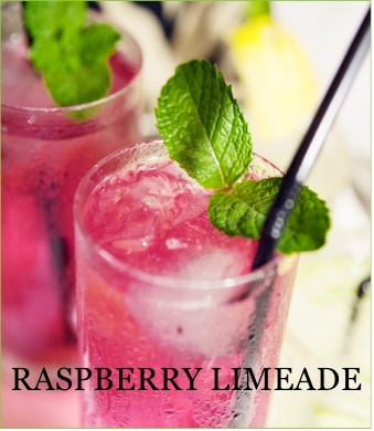Raspberry Limeade | Good Eats | Pinterest