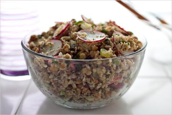 Bulgur and Lentil Salad | Vegetarian Thanksgiving Recipes - Well - NYTimes.com