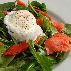 Smoked Salmon and Poached Egg Salad | I LIKE FOOD | Pinterest