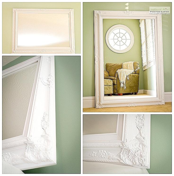 Cool Bathroom Large Framed Mirrors