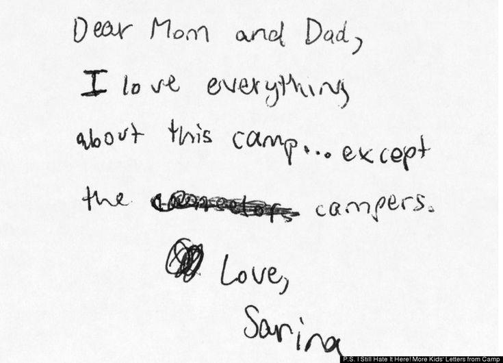 """P.S. I Still Hate It Here! More Kids' Letters from Camp"""""""