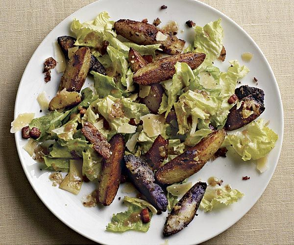 ... Fingerling Potato Salad with Pancetta and Warm Mustard Vinaigrette